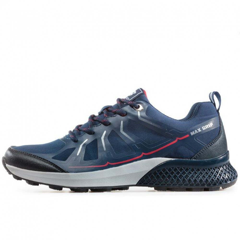 Bulldozer 92044 Navy/red
